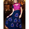 BLUE COLOR ANARKALI STYLE GEORGETTE DESIGNER SUIT