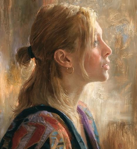 Arsen Kurbanov, 1969 ~ Portrait painter | Artistes et créateurs d'aujourd'hui... | Scoop.it