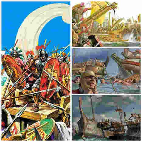 El Corvus, el arma que dio a Roma la supremacía naval | LVDVS CHIRONIS 3.0 | Scoop.it