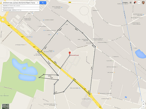 Google Maps peut maintenant calculer la distance entre deux points | Seniors | Scoop.it