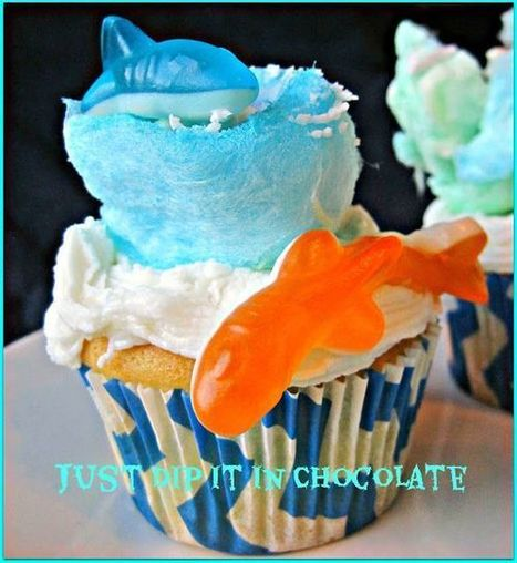 Sharknado: The Cupcake | ideas | Scoop.it