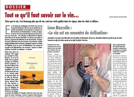 Léon Mazzella | Tout ce qu'il faut savoir sur le vin... | Vin, Culture & Société : articles, conférences, dossiers... en ligne | Scoop.it