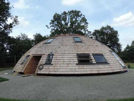 Maison bioclimatique Domespace : une première dans la région de l'Eure ! | technologie 5ème | Scoop.it