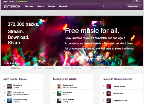 Where To Find Creative-Commons Licensed Music for Your [Storied] Presentation or Video | Just Story It Biz Storytelling | Scoop.it