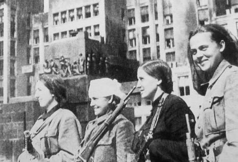Las mujeres en el ejercito sovietico |Todo sobre la Segunda Guerra Mundial | Guerra Mundial | Scoop.it