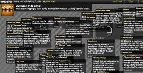Wallwisher.com :: Words that stick | Icebreaker Activities | Scoop.it