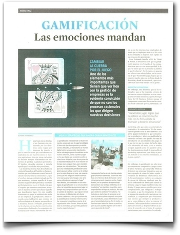 Gamificación, en @LaVanguardia | @EDans | Gamification | Scoop.it