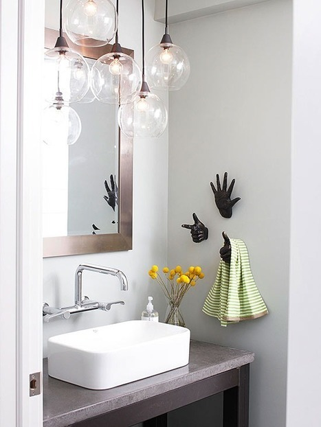 6 Decorative Ideas for Your Small Bathroom | Home and Office Furniture | Scoop.it