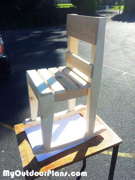 DIY Kids Rocking Chair Plans | MyOutdoorPlans | Free Woodworking Plans and Projects, DIY Shed, Wooden Playhouse, Pergola, Bbq | Garden Plans | Scoop.it
