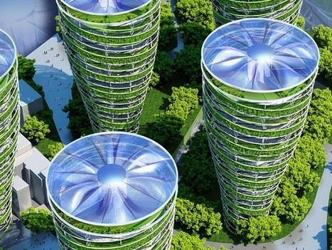 This Futuristic Smart City May Be What Paris Would Look Like In 2050 - DesignTAXI.com | IMMOBILIER 2015 | Scoop.it