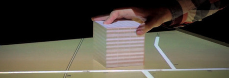 Graphisme & interactivité blog par Geoffrey Dorne » Un projet qui mélange tangible, 3D, et virtuel, voici : «Tangible 3D Tabletop» | Digitaleffects | Scoop.it