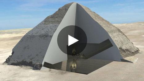 Une pyramide d'Egypte dévoile ses secrets grâce aux particules cosmiques | Aux origines | Scoop.it