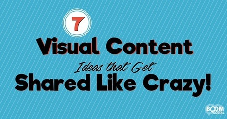 7 Visual Content Ideas that Get Shared Like Crazy! | My Blog 2016 | Scoop.it