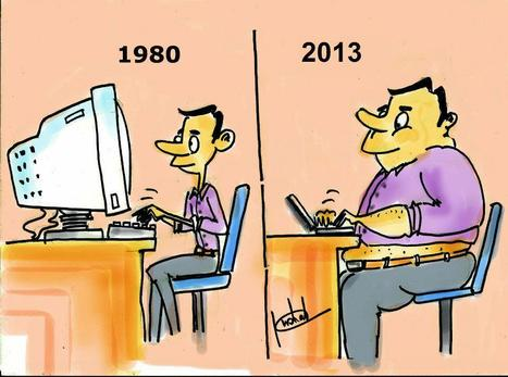 L'impressionante réduction de l'encombrement des ordinateurs... | BLAGA2BAL | Scoop.it