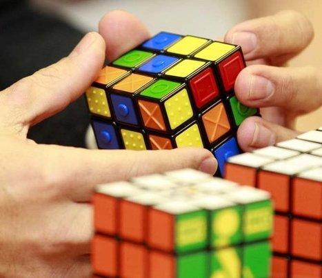 Rubik's Touch Cube: el «cubo mágico» para invidentes   Microsiervos (Puzzles y Rubik)   Discapacidad y tecnología   Scoop.it