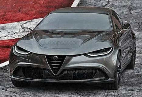 Alfa Roméo Giulia Coupé : une idée interessante | MonAutoNews | Scoop.it