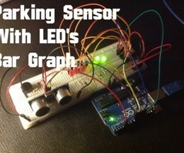 Arduino - Ultrasonic Sensor with LED's and buzzer | Makers | Scoop.it