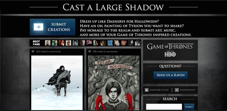 La stratégie digitale d'HBO pour Game Of Thrones - Hashtag Kiwi | Buzz Marketing & New technos | Scoop.it