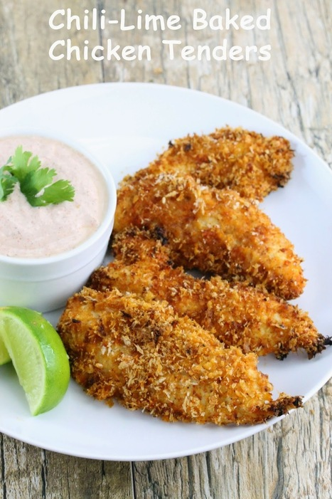 The Stay At Home Chef: Chili-Lime Baked Chicken Tenders   Mobile Tech For Business   Scoop.it