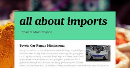 Toyota Car Repair Mississauga | Guide for Mazda car repair Mississauga | Scoop.it