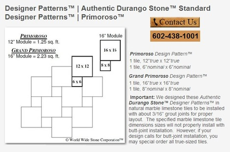 Durango Stone | Popular Marble Limestone Travertine Tile Patterns | Scoop.it