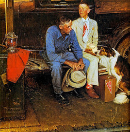Visual Storytelling with Norman Rockwell! | Stories - an experience for your audience - | Scoop.it