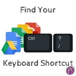 Control Slash: Find Your Keyboard Shortcuts - Teacher Tech via @alicekeeler  | Las TIC en el aula de ELE | Scoop.it