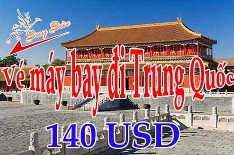 Làm thế nào mua được vé đi Trung Quốc 140 USD | Ve may bay, Đặt mua vé máy bay tại đại lý vé máy bay Duy Đức cam kết giá rẻ nhất | Scoop.it