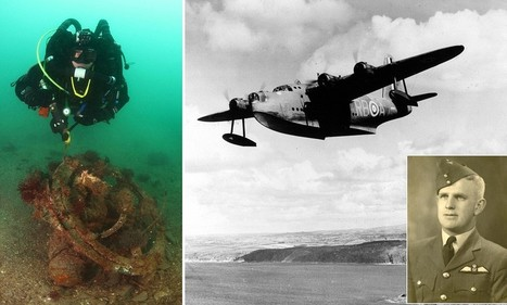 Diving into the past: Doomed Second World War RAF bomber discovered off the Cornish coast.. 70 years after it crash-landed while taking servicemen to Gibraltar for Christmas break | second world war | Scoop.it