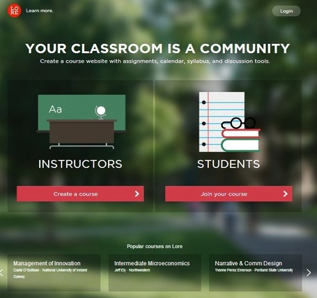Lore - The social network for education | Better teaching, more learning | Scoop.it