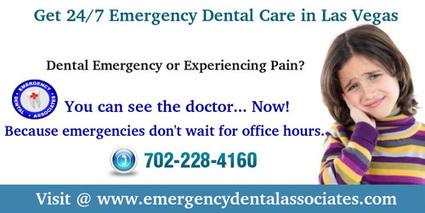 Get 24 Hour Emergency Dental Care in Las Vegas   Emergency Dental Associates   Scoop.it