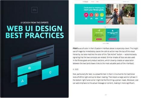 Free e-book: Web UI Best Practices | Expérience Utilisateur (UX) | Scoop.it