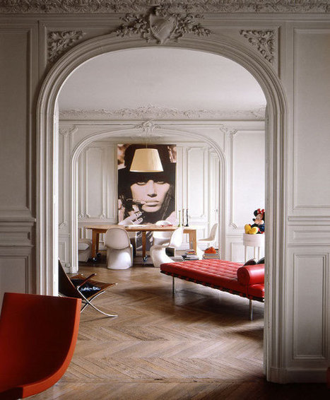 Le style haussmannien revisité - Frenchy Fancy | IMMOBILIER 2015 | Scoop.it