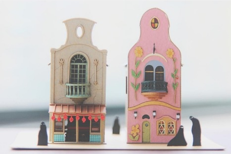 These Miniature Japanese Paper Crafts are the Antidote to Pokemon | Research_topic | Scoop.it