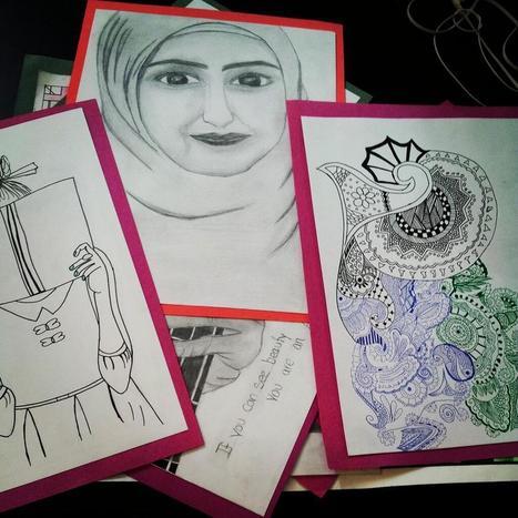 Twitter / ShamamaAzeemii: Incomplete art peices, havnt ... | Art | Scoop.it
