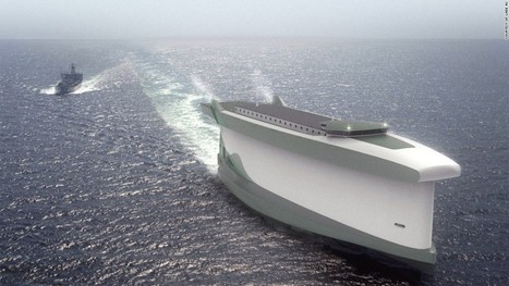 'Vindskip' cargo ship uses its hull as a giant sail - CNN.com | Systems of Knowledge | Scoop.it