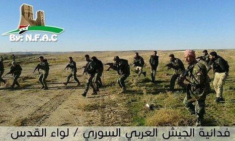 Syrian Arab Army Secure Khanasir/Ithriya Highway (video) | Global politics | Scoop.it