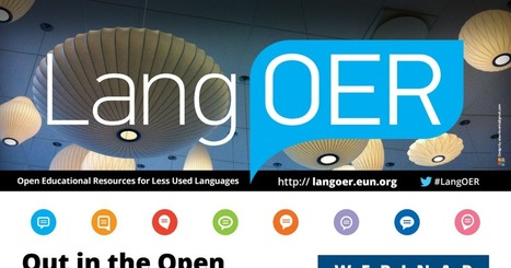 LangOER webinar: 15 September | TELT | Scoop.it