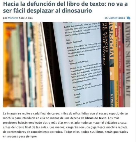 CUED: No es cuestión de abandonar los libros. Es cuestión de cambiar la escuela | Educación a Distancia (EaD) | Scoop.it