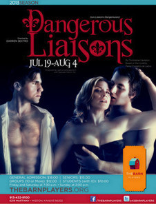 The Barn Players begin production for 'Dangerous Liaisons' | examiner.com | OffStage | Scoop.it