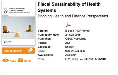 Fiscal Sustainability of Health Systems - New OECD report - OECD iLibrary | Health Care Business | Scoop.it