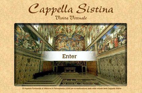 Cappella Sistina - Visita Virtuale | Prof. GEO_HIS | Scoop.it