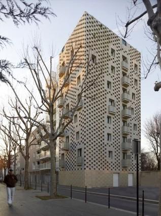 [ Paris, France ] 23 Local Authority Housing / Avignon-Clouet Architectes | The Architecture of the City | Scoop.it