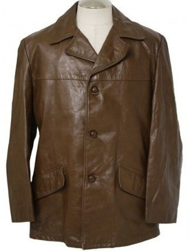 Slim Fitted New Men's Blazer Brown Color Leather Coat Collar Style | Shopping | Scoop.it