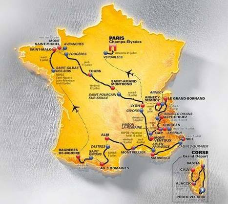 Le Tour de France 2013 | Revue de Web par ClC | Scoop.it