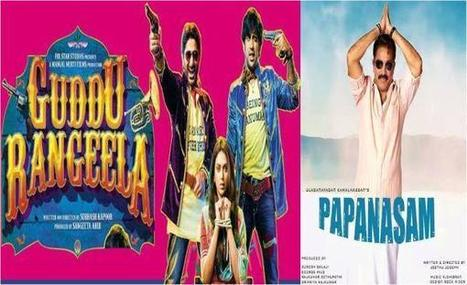 Films On The Weekend: Top Reasons To Watch Papanasam And Guddu Rangeela | Entertainment News | Scoop.it