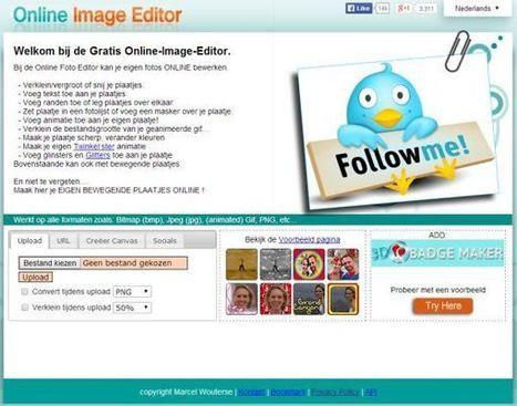 Online Image Editor: gratis online afbeeldingen bewerken « André ... | Screencasting en video editing | Scoop.it