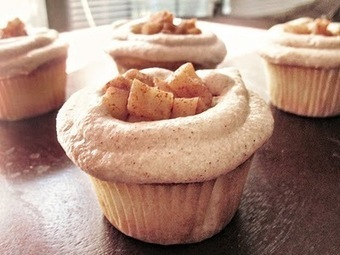 The Tale of Two Kitchens: Apple Pie Cupcakes | new baking ideas | Scoop.it