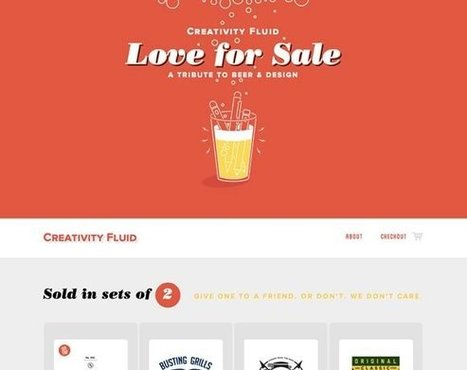 Beautiful Color in Web Design 21 Examples Inspire | Design Revolution | Scoop.it