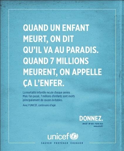 L'Unicef en campagne | Marketing et communication au service du non marchand | Scoop.it